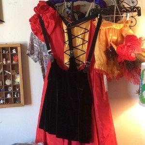 UNIF Dresses - UNIF Black Velvet Overall Dres